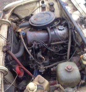 Двигатель и коробка 2106