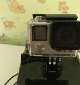 Экшен камера GoPro HERO Silver 4