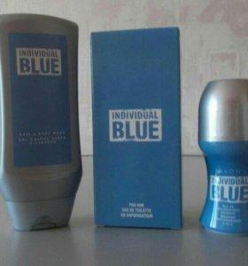 Набор мужской-туалетная вода,дезодорант, гель душа