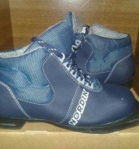 Комплект: Лыжи и ботинки