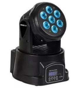 Вращающаяся голова LED rgbw 7 12wat