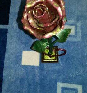 Роза кованная!