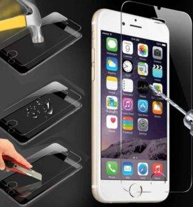 Защитные стекла для iPhone 5,6