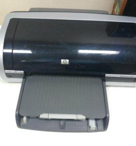 Принтер с цветным и черно- белым картриджем
