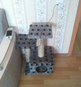Кошачий домик, когтеточка
