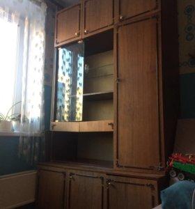 Шкаф от стенки. Ширина 1,26 м высота 2,25 м
