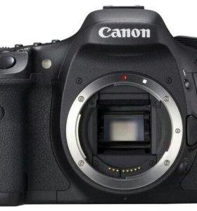 Фотоаппарат Canon 7d с объективами