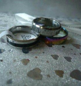 Кольца титан унисекс