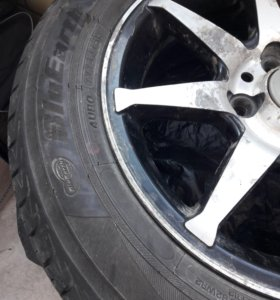 4 колеса на литье yokohama