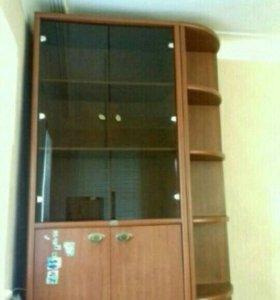 Шкаф с угловым стеллажом