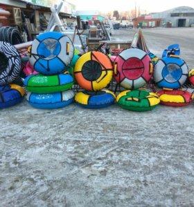 Санки, санки-коляска, тюбинги, снегокаты!!
