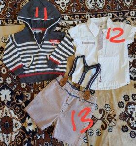 Одежда 0-6 месяцев