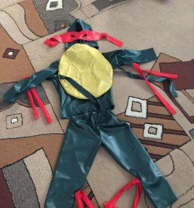 Костюм новогодний черепашка ниндзя 30 и 34 размер
