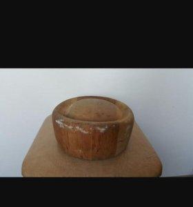 Балваны для шапок деревянные