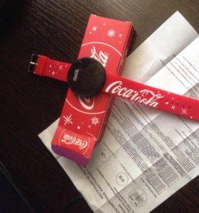 Часы coca-cola