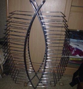 Стеллаж подставка для дисков