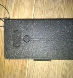 Чехол и два защитных стекла для LG G5
