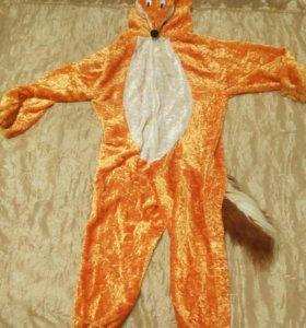 Детский костюм лисички.