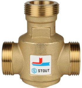 Термостатический смесительный клапан STOUT 60°С