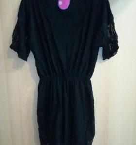 Новое платье гипюровое