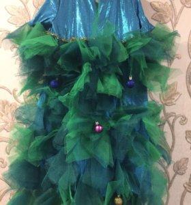 Новогодние платье «Елочка», индивидуальный пошив.