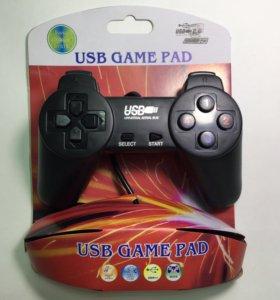 Джойстик USB U-701 черный для компьютера