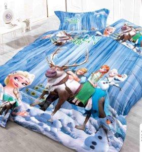 Детское постельное белье 1 сп, разные