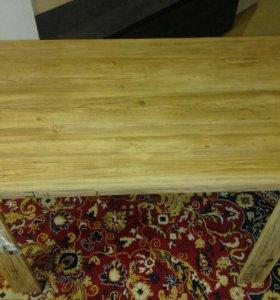 Новый стол пластик под дуб