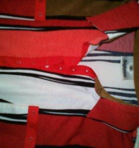 Блуза трикотаж