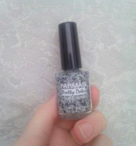 Лак для ногтей с кусочками красоты