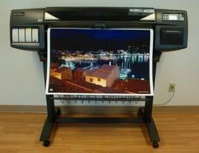 Плоттер HP DesignJet 1050c plus