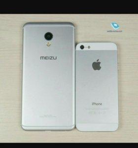 Meizu mx6 на гарантии.