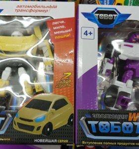 Тоботы эволюция. Машинки-трансформеры.