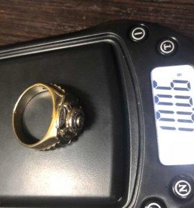 Кольцо золото с бриллиантами вес: 10,06