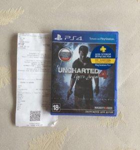 Uncharted 4 запечатанная