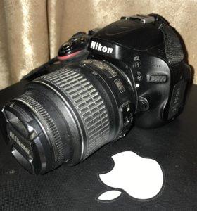 Фотоаппарат зеркалки Nikon 5100