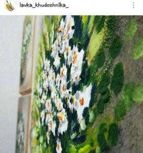 Картины и изделия из дерева