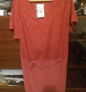 Платье новое, 58 размера