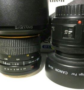 Зеркальная камера Canon 60b. Комплект.