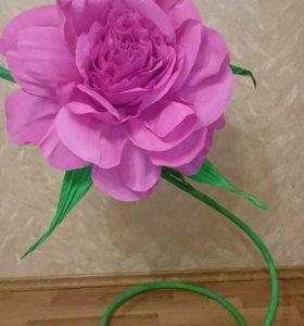 Продам цветы-гиганты из бумаги
