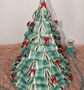 Декоративная денежная елка