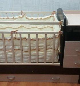 Кровать трансформер с маятником
