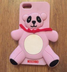 Новый чехол Панда Moschino для iPhone 5, 5s