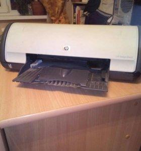 Струйный принтер и сканер планшетный