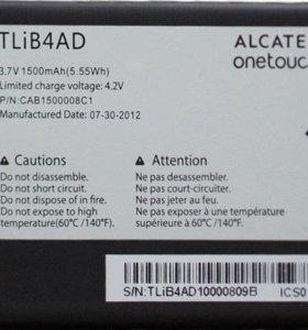 АКБ БАТАРЕЯ Alcatel One Touch View 5040X (TLIB4AD)