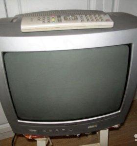 маленький телевизор цветной с пультом