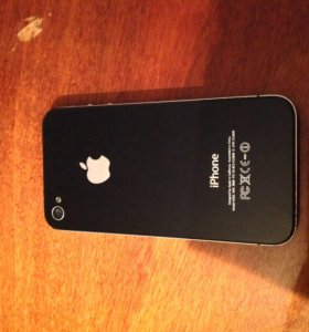 iPhone 4 16 gb black