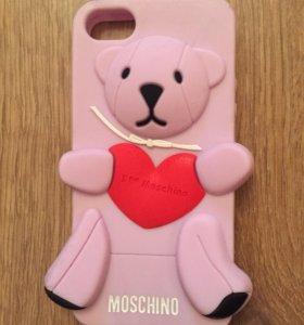 Новый чехол Мишка Moschino для iPhone 5, 5s