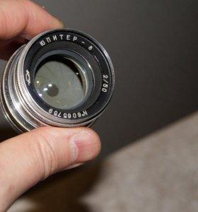 Объектив Юпитер-8 50mm f/2