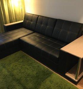 Угловой диван (экокожа)